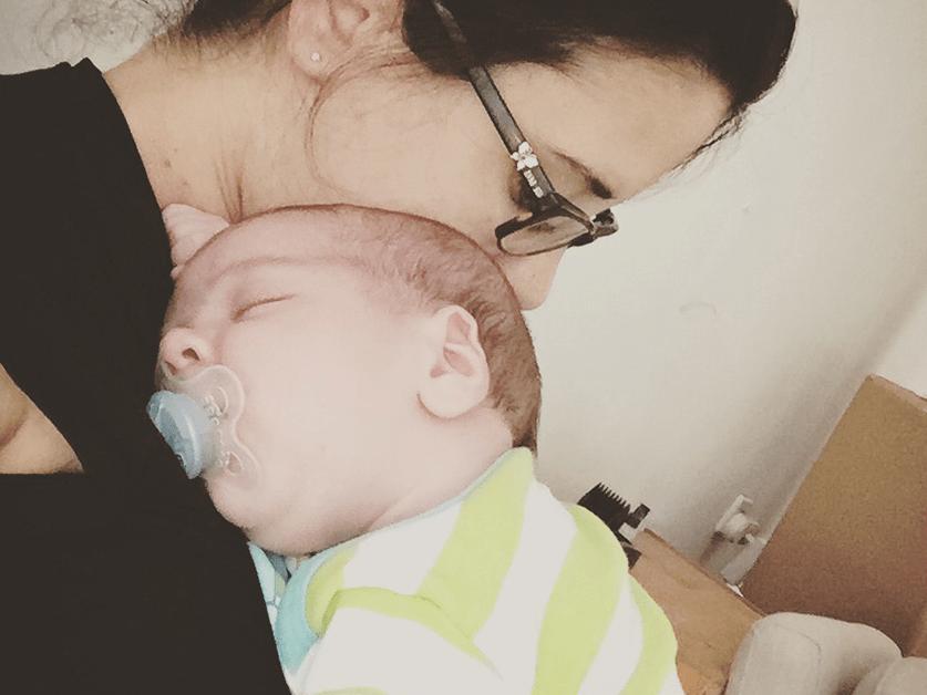 גזים וכאבי בטן אצל תינוקות